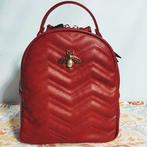 🐺 NWT Red Bottari Backpack 🐺